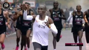 Eliud Kipchoge Breaks Another World Record!